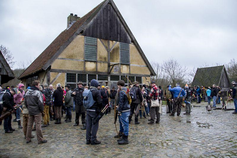 Twee pijlen 3D Winter Toernooi Prehistorisch dorp @ Prehistorisch dorp Eindhoven   Eindhoven   Noord-Brabant   Nederland